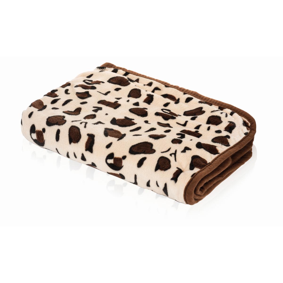 Smart pet love - lekker liggen deken beige met giraffe motief