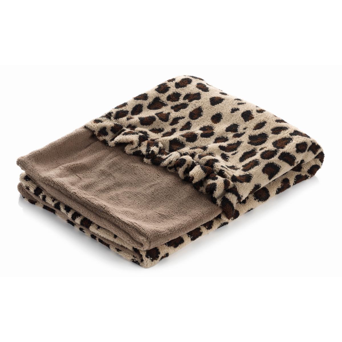 Smart pet love - lekker liggen bed bruin met giraffe motief