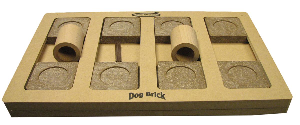 Productafbeelding voor 'Brick hout bruin'