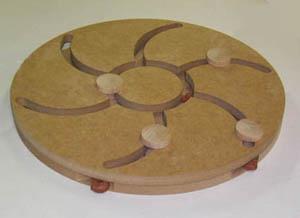 Productafbeelding voor 'Turbo hout bruin'