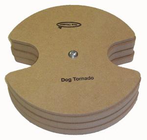 Productafbeelding voor 'Tornado hout bruin'