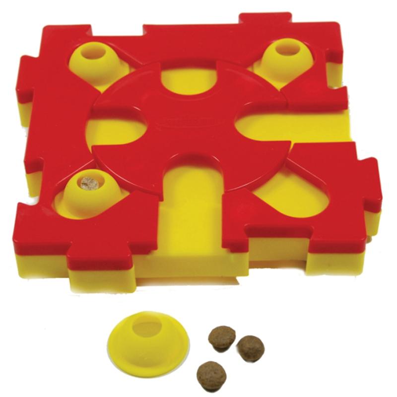 Productafbeelding voor 'Dog mixmax geel/rood'