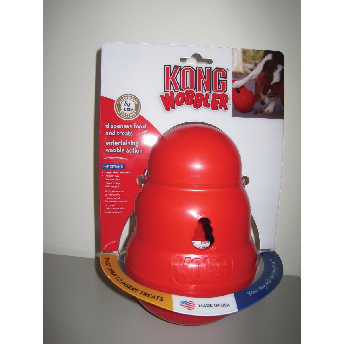 Kong - wobbler rood