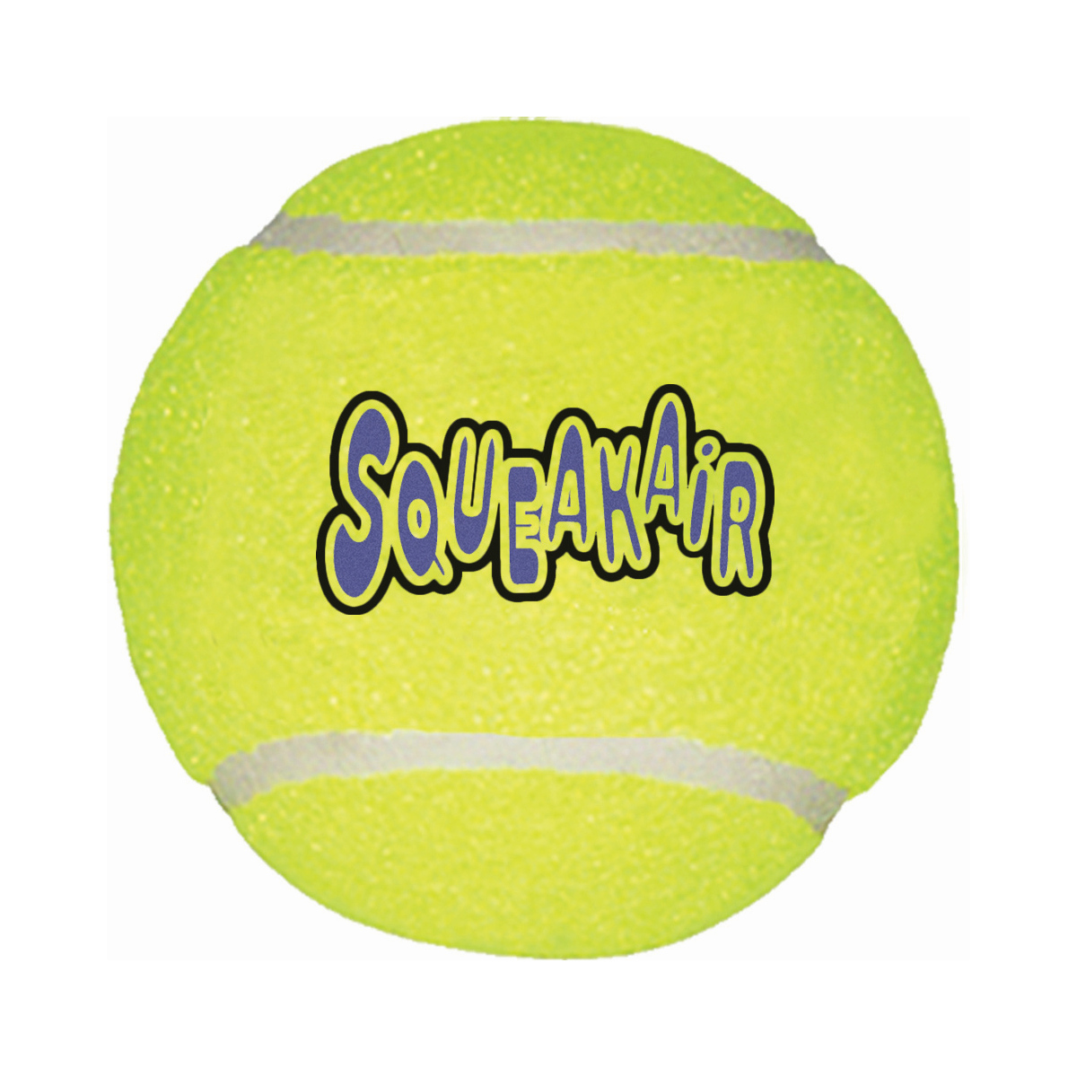 Kong - air squeacker tennisball geel