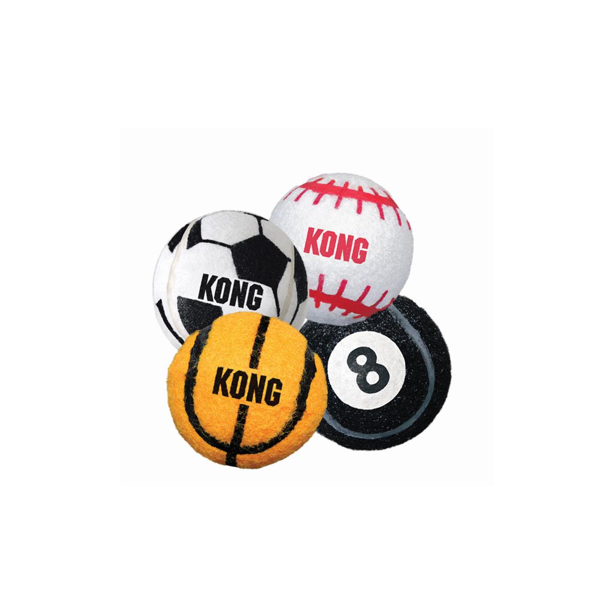Kong - sport balls 3pk