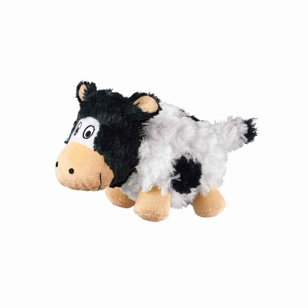 Kong - barnyard cruncheez cow zwart/wit