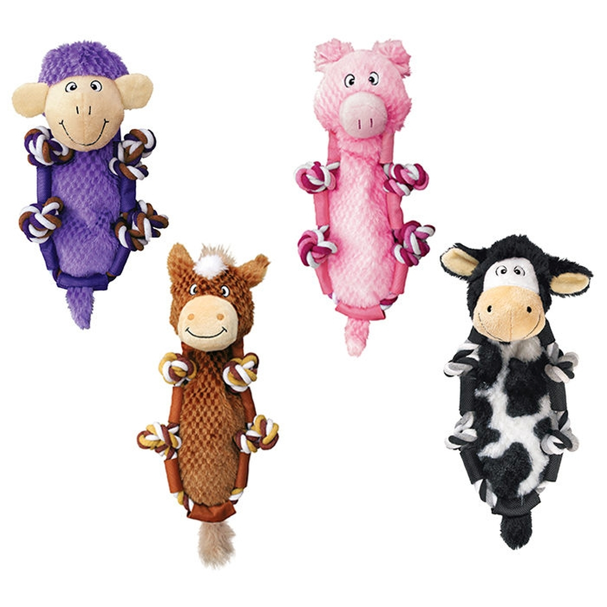 Barnyard knots sheep paars