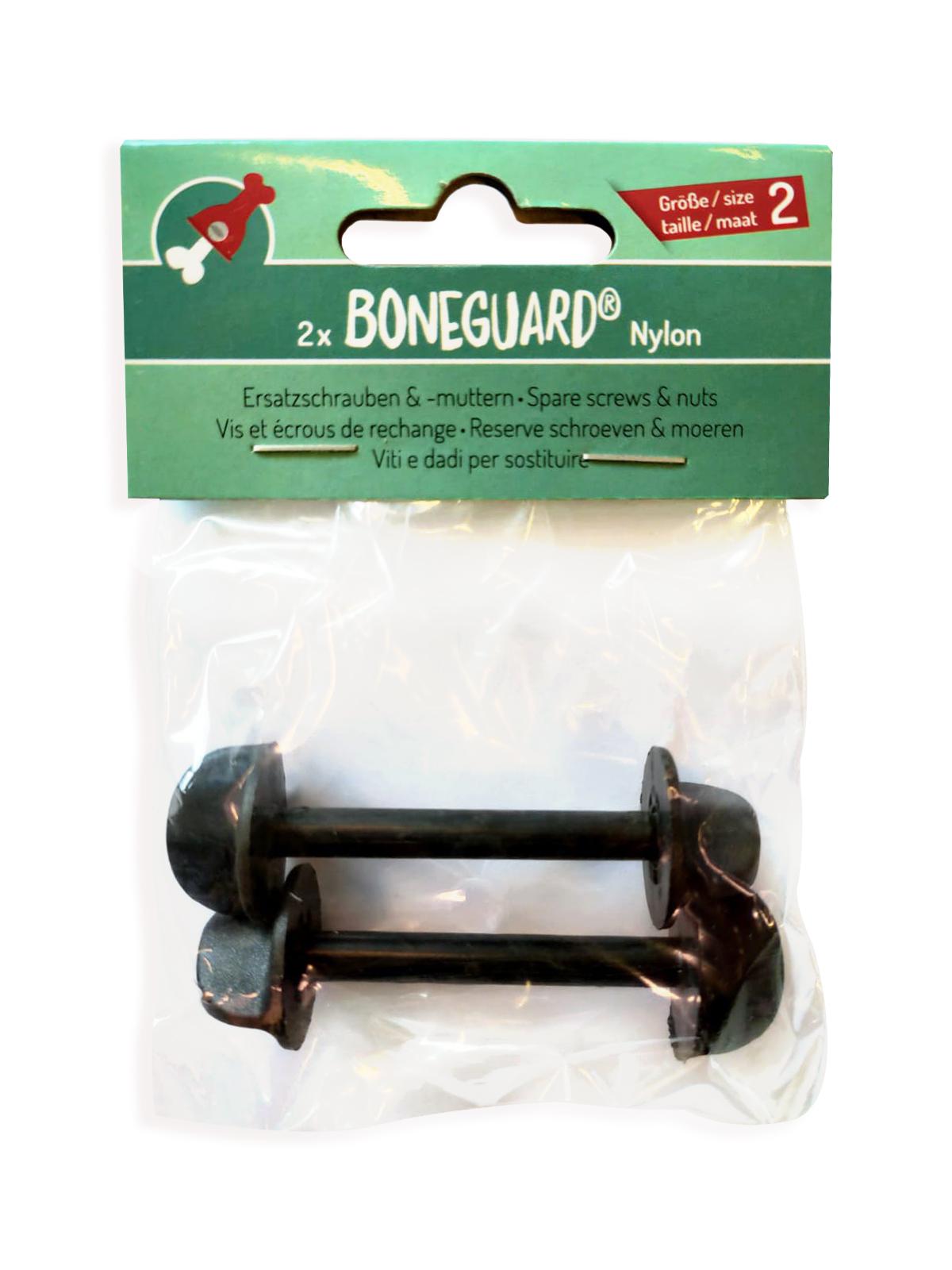 Boneguard - reserveschroef zwart 2 st