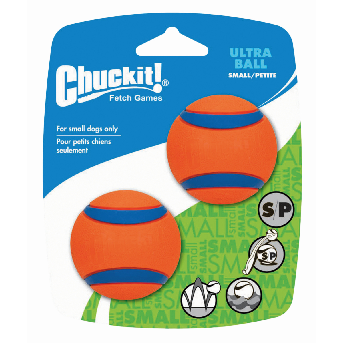 CI ULTRA BALL SMALL 2-PACK 00001