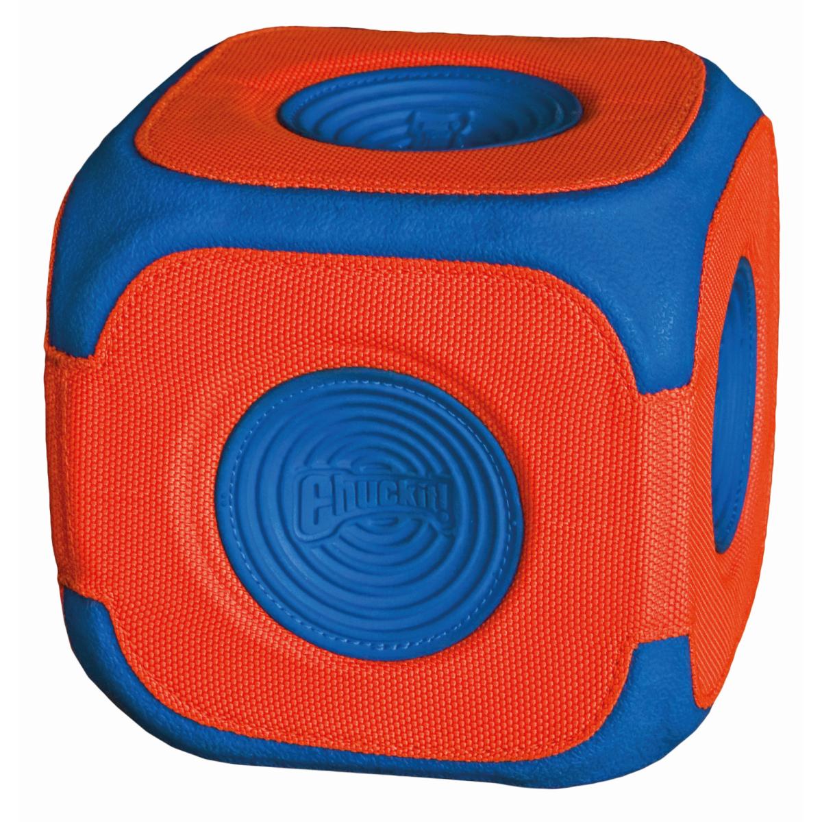 Kick cube oranje/blauw