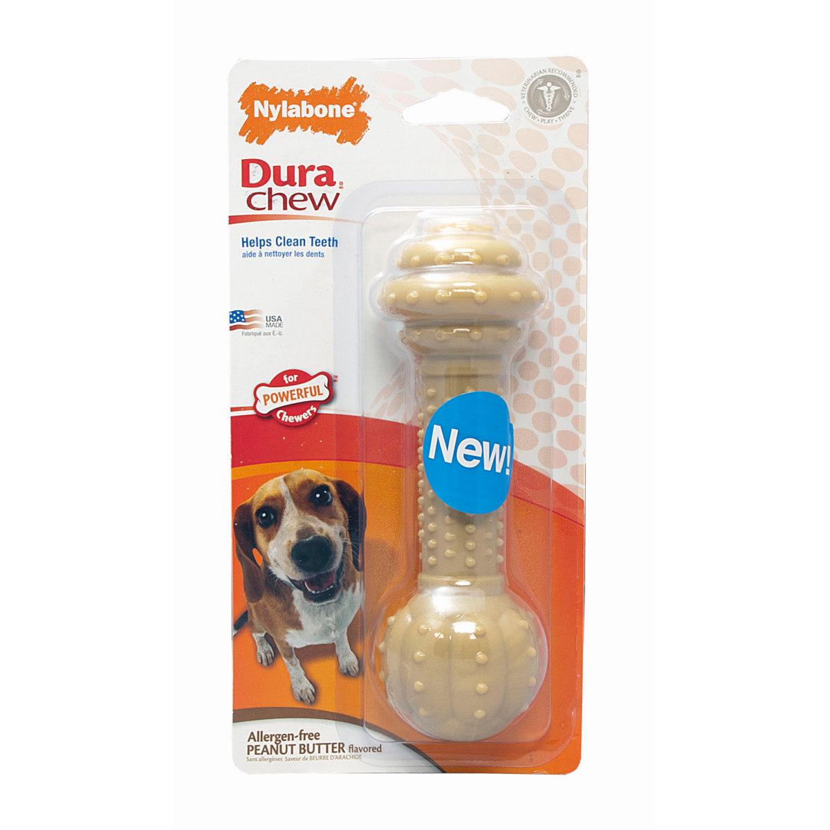 Productafbeelding voor 'Dura chew barbell bruin'