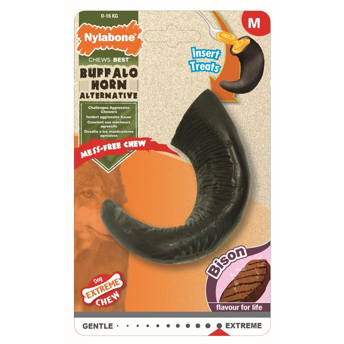 Productafbeelding voor 'Extreme chew horn bison flavour zwart'