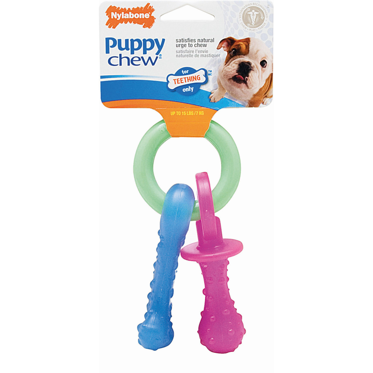 NY FL.PUPPY TEE.PACIFIER <10KG N 00001