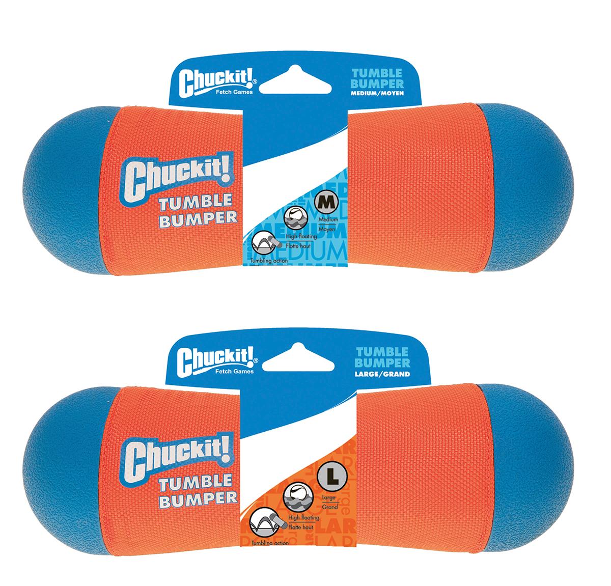 Tumble bumper oranje/blauw