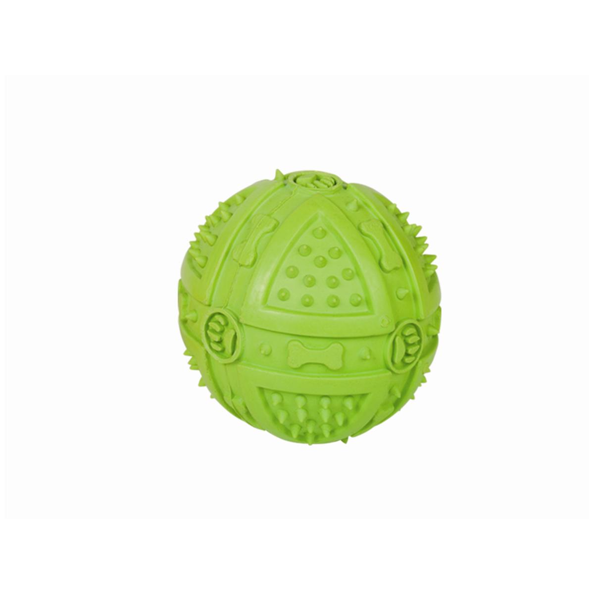 Rubberbal met piep groen