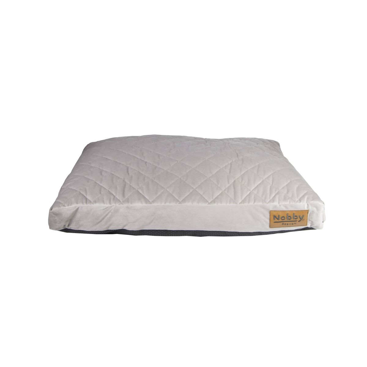 NB BED VEL. SMOKE 108X68X8CM 00000