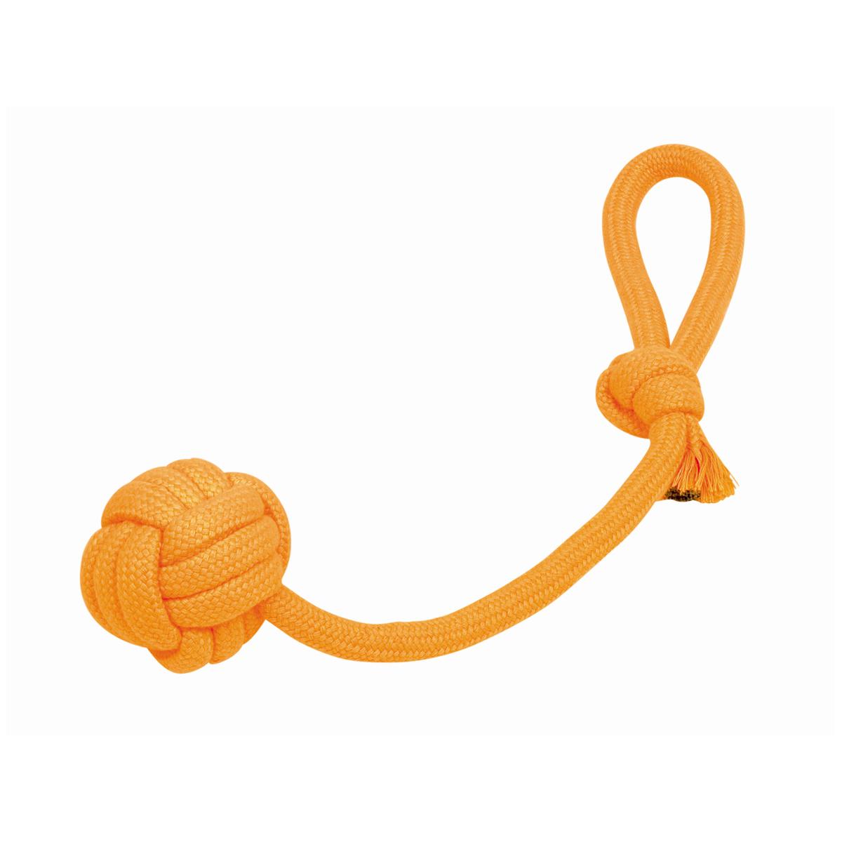 Neon werp touwbal oranje