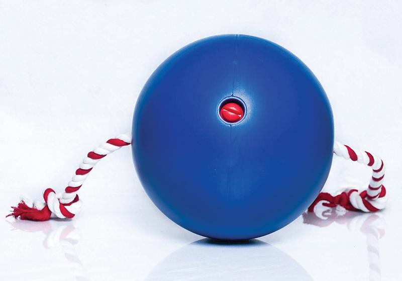 Ball blauw