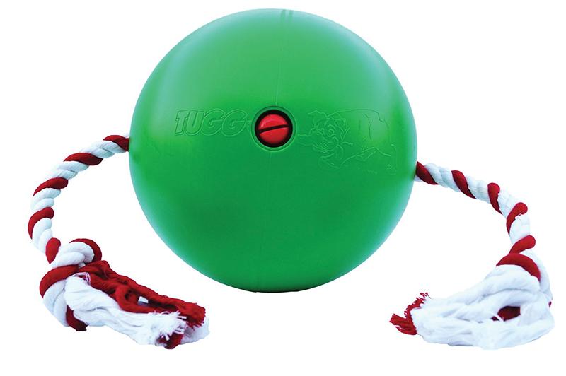 Tuggo - ball 25 cm groen