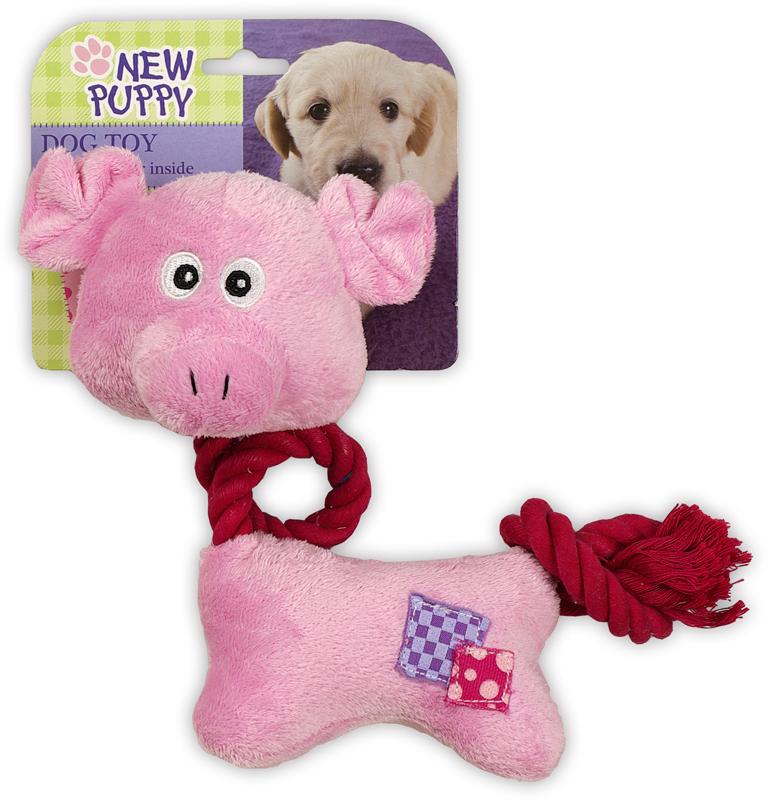 Touwnek varken roze