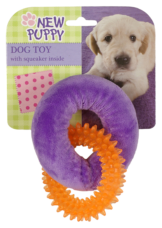 AFP PUPPY PLUCHE+RUBBER RING J 00002