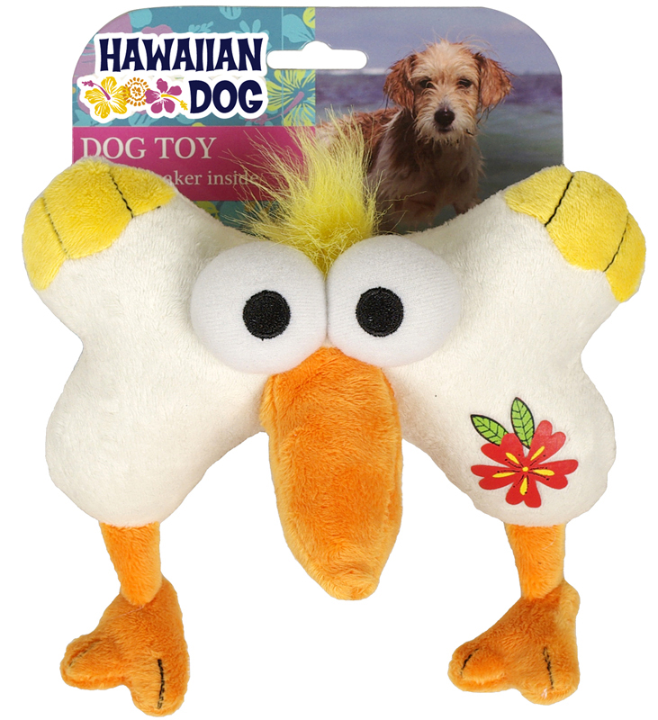 Hawaiian dog pelikaansnoet wit