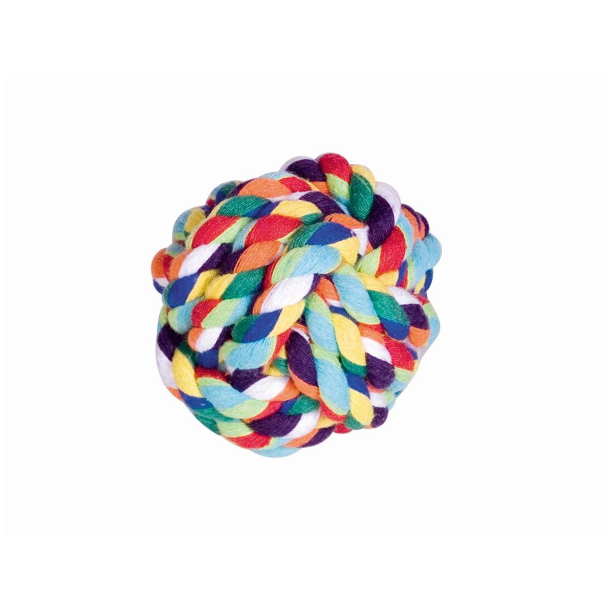 Nobby - touwbal gekleurd meerkleurig