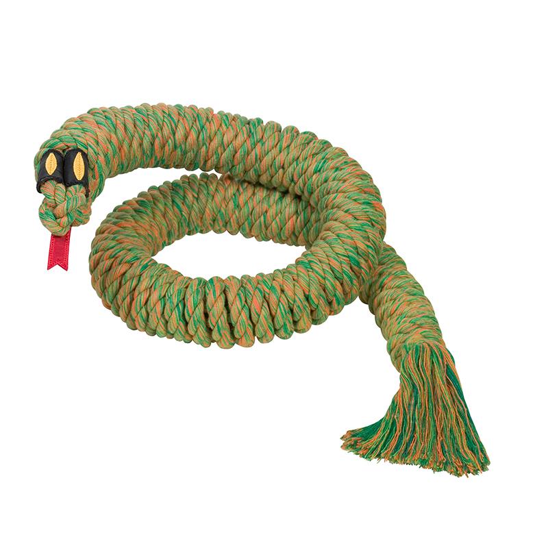 Slang + touw paars
