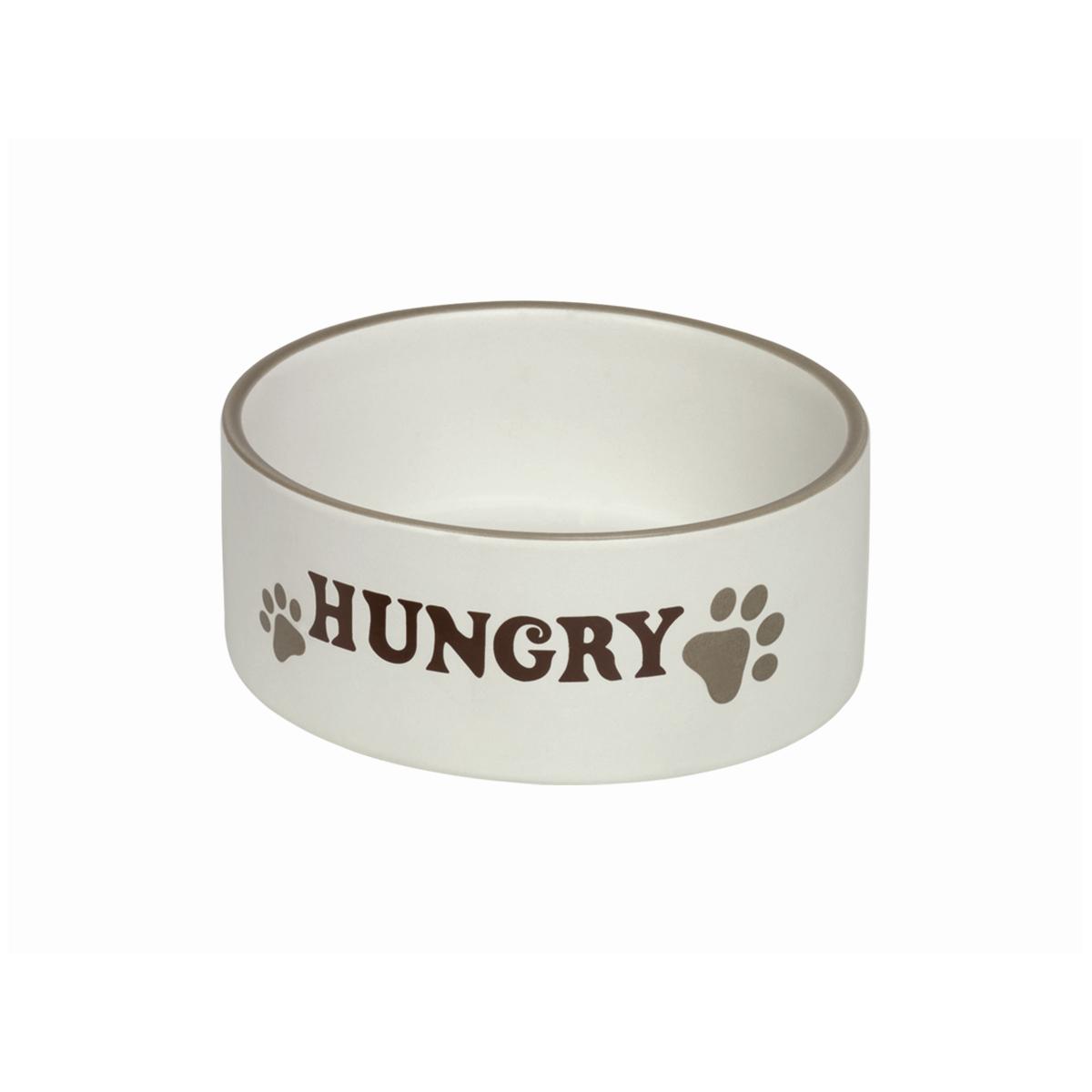 Nobby - keramieke eetbak hungry creme