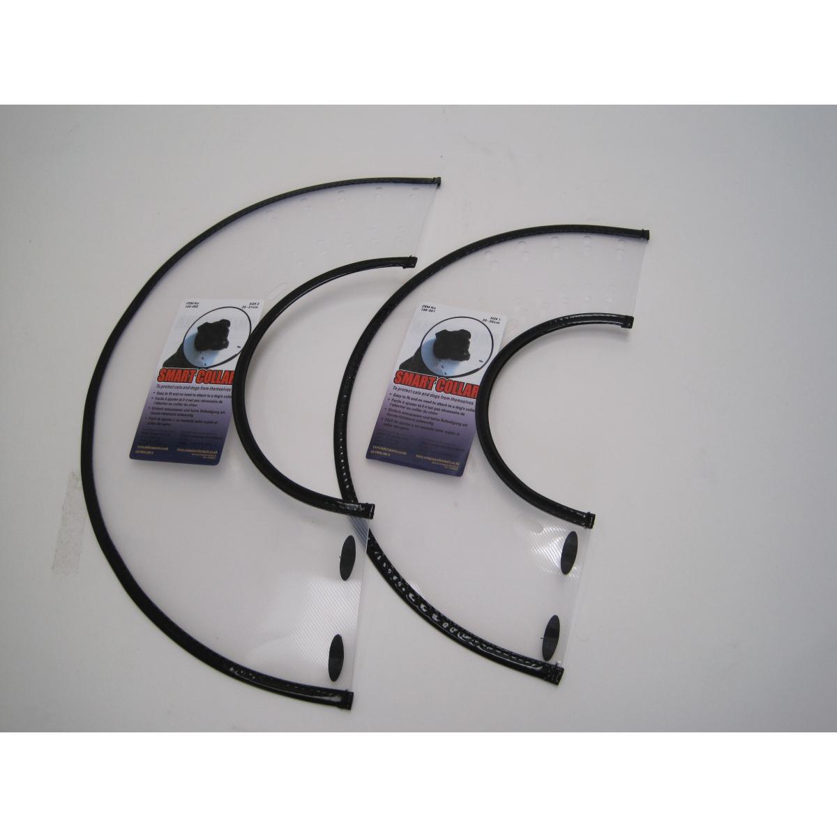 Productafbeelding voor 'Smart collar - nekkraag transparant'