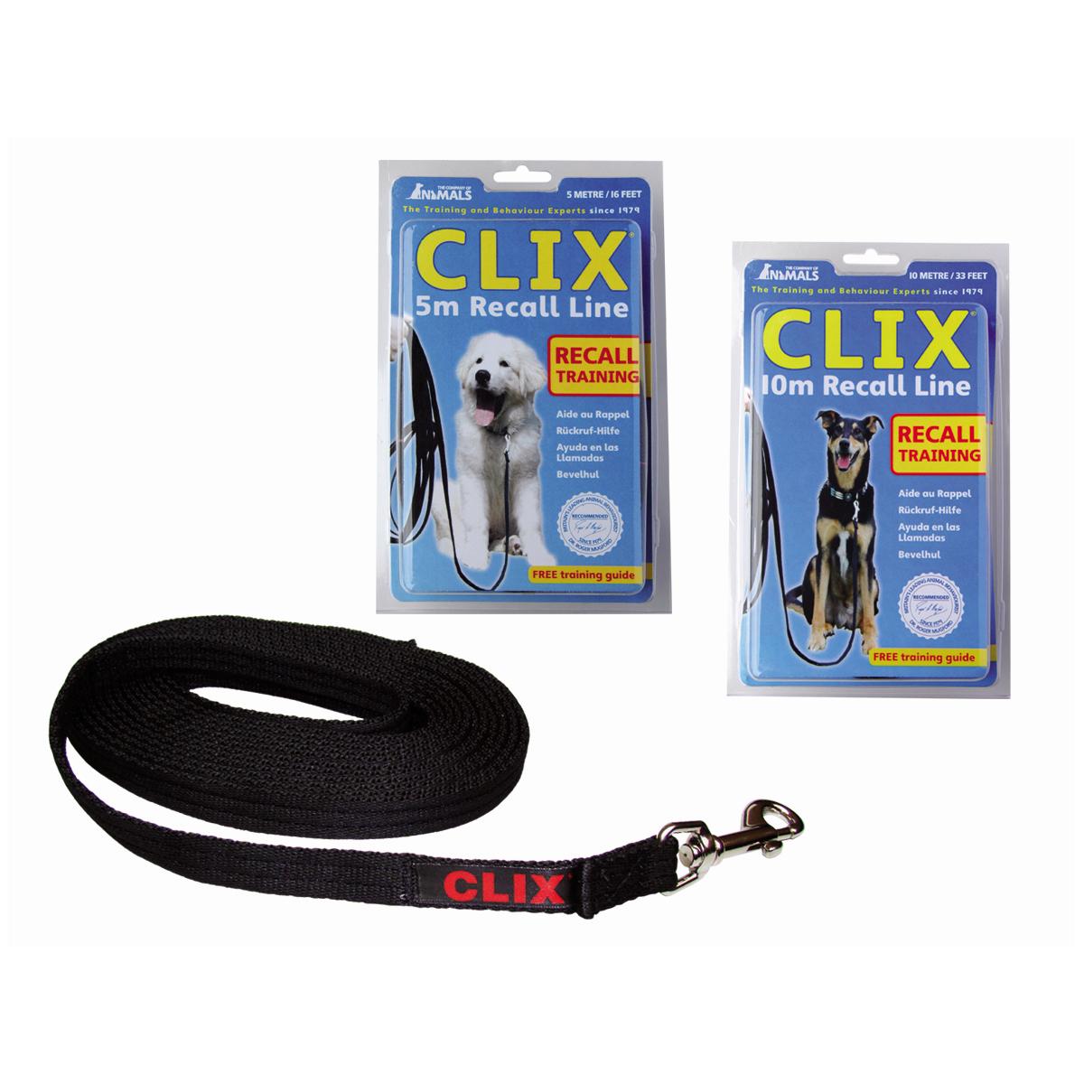 Clix - long line zwart