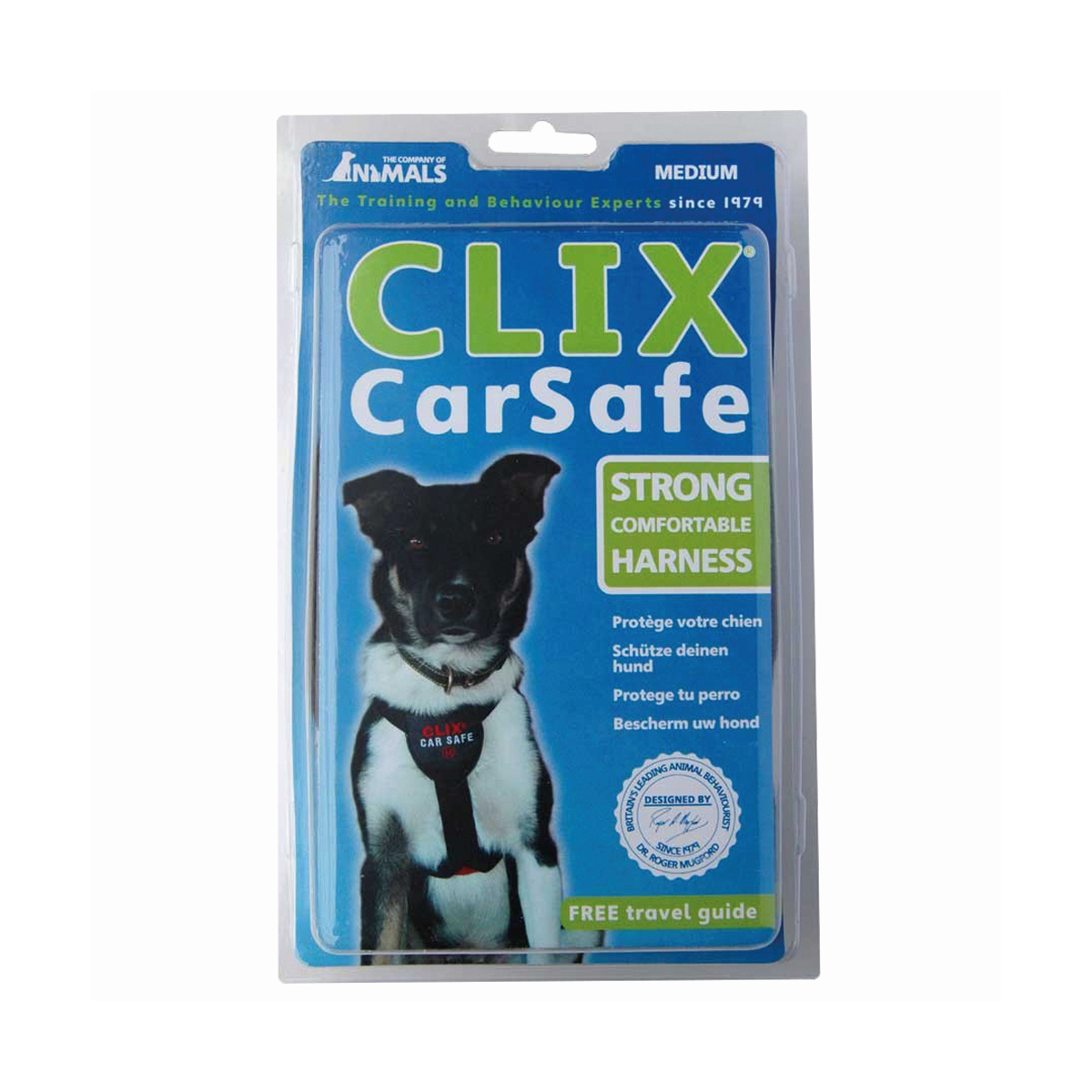 CLIX CAR SAFE HARNESS MED 00001