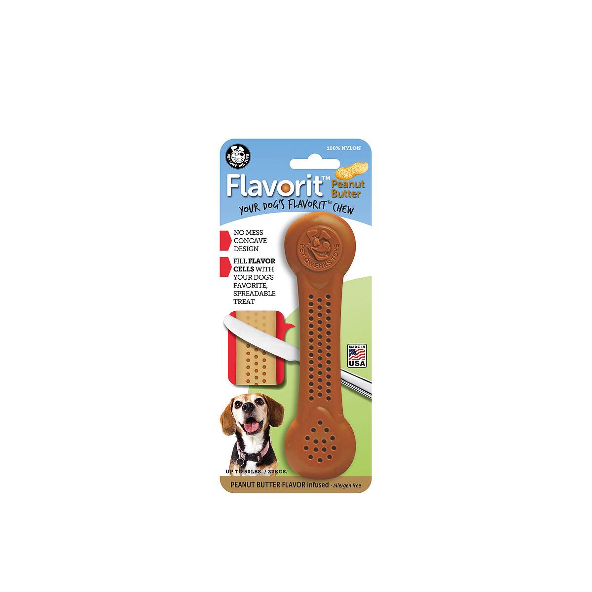 Flavorit bone peanut bruin