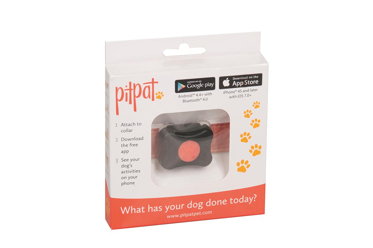 Productafbeelding voor 'Pitpat activity monitor zwart'
