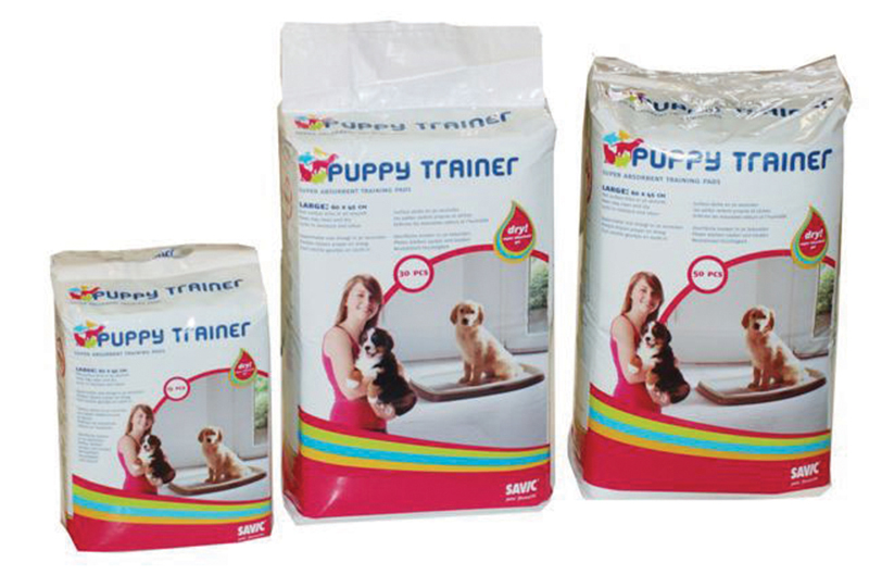 Productafbeelding voor 'Savic - puppy trainer navulpads wit 30 st'