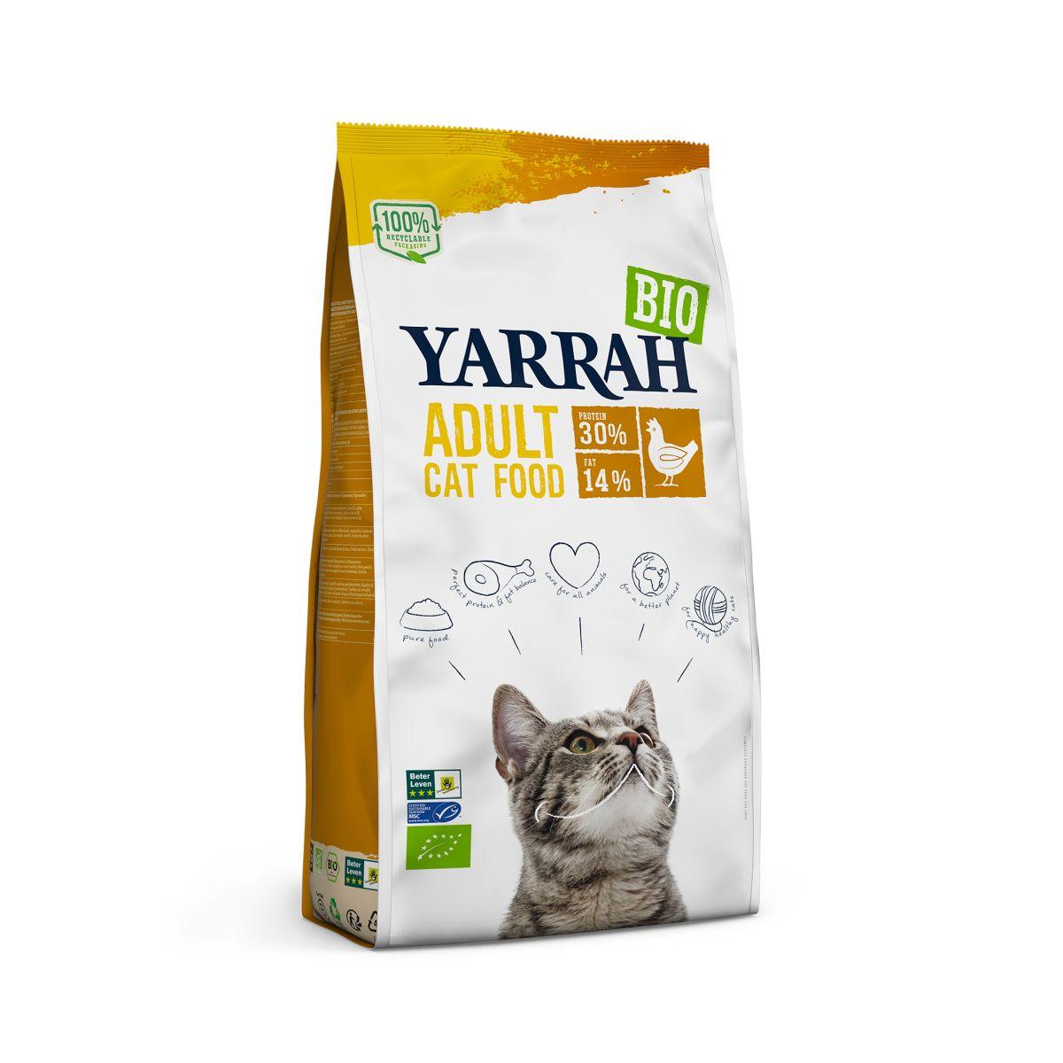 Yarrah - kattenvoer kip meerkleurig 800 gr