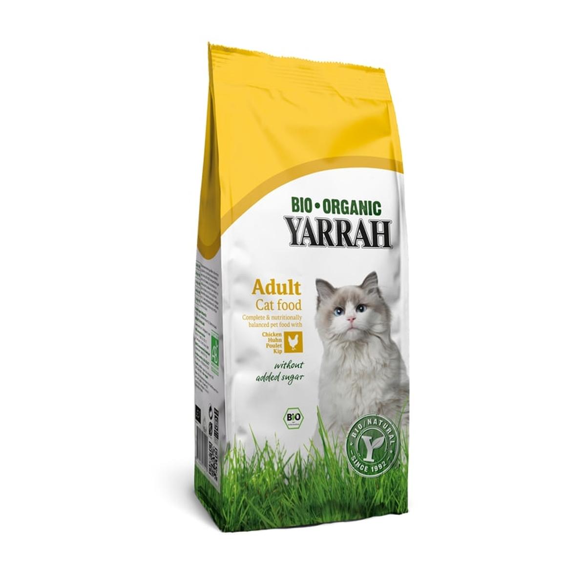 Yarrah - kattenvoer kip meerkleurig 3 kg