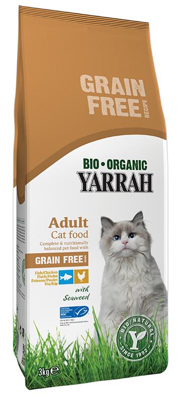 Yarrah - organisch kattenvoer meerkleurig 3 kg