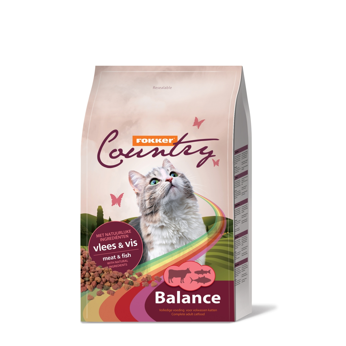 Country balance cat meerkleurig 10 kg