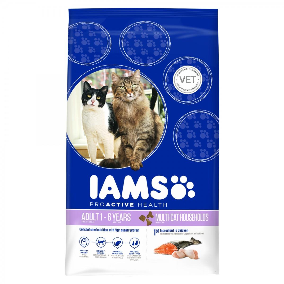 Productafbeelding voor 'Adult multi cat meerkleurig 800 gr'