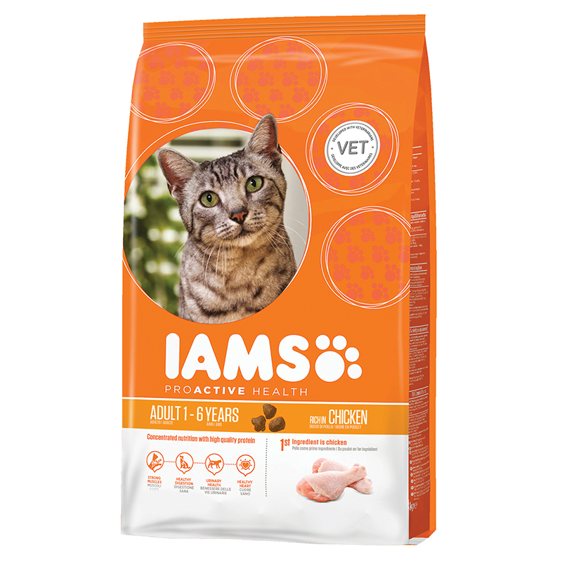 IA CAT ADULT CHICKEN 3KG 00001