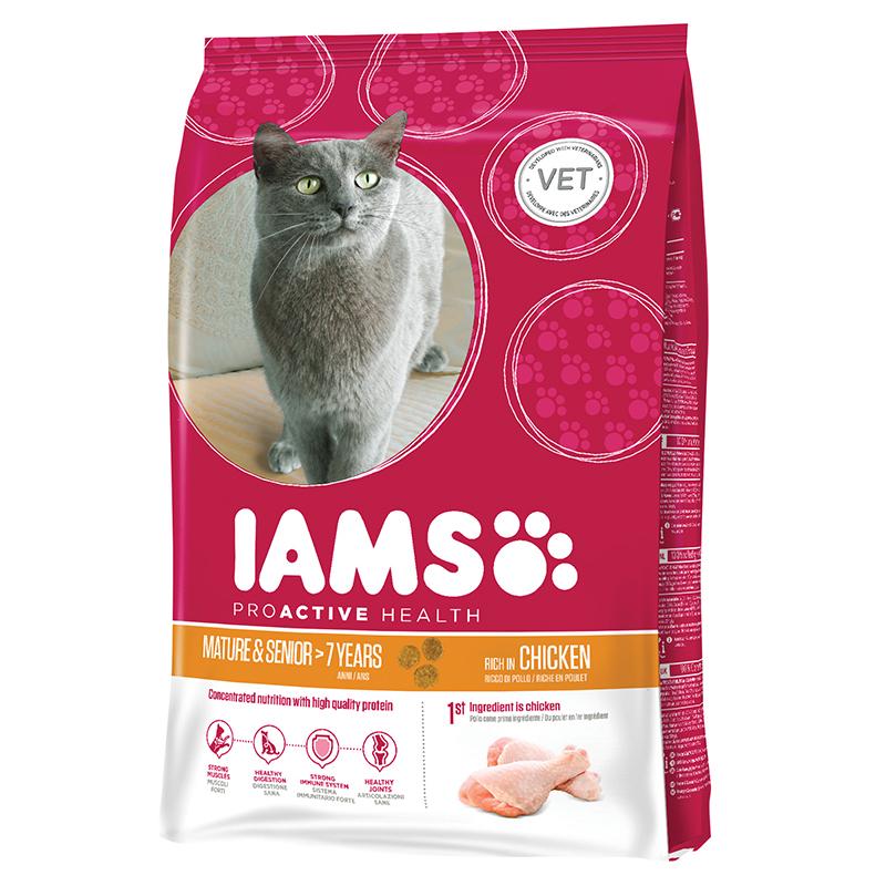 IA CAT MAT/SENIOR CHICKEN 300G 00001