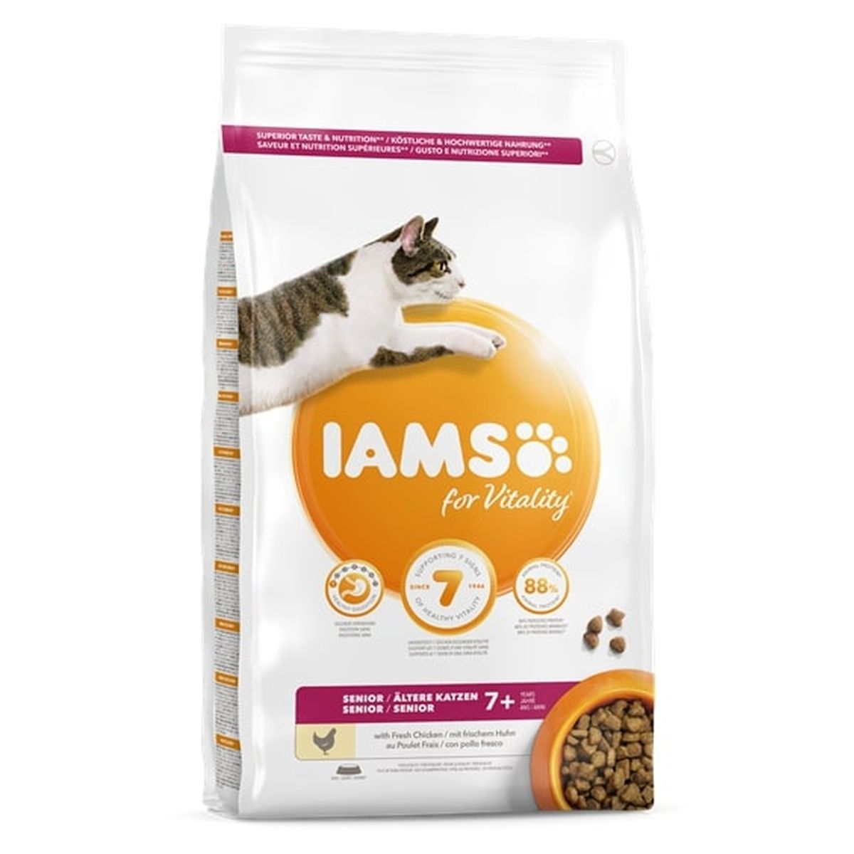 IA CAT SENIOR CHICKEN 3KG 00001