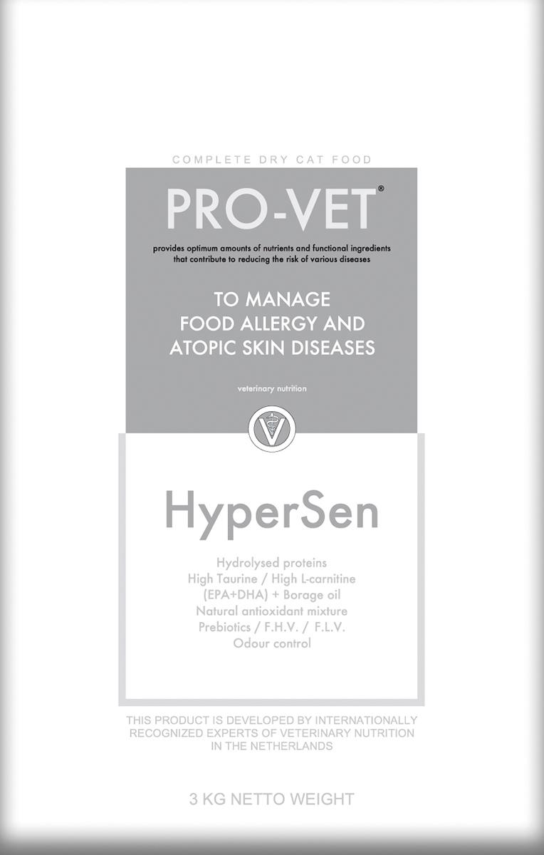 Pro-vet - hypersen meerkleurig 3 kg