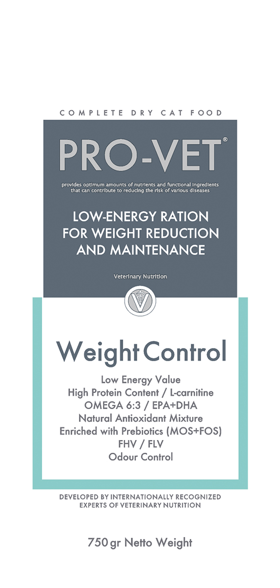 PV CAT WEIGHT CONTROL 750GR 00001