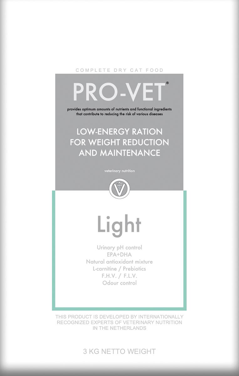 Pro-vet - weight control meerkleurig 3 kg