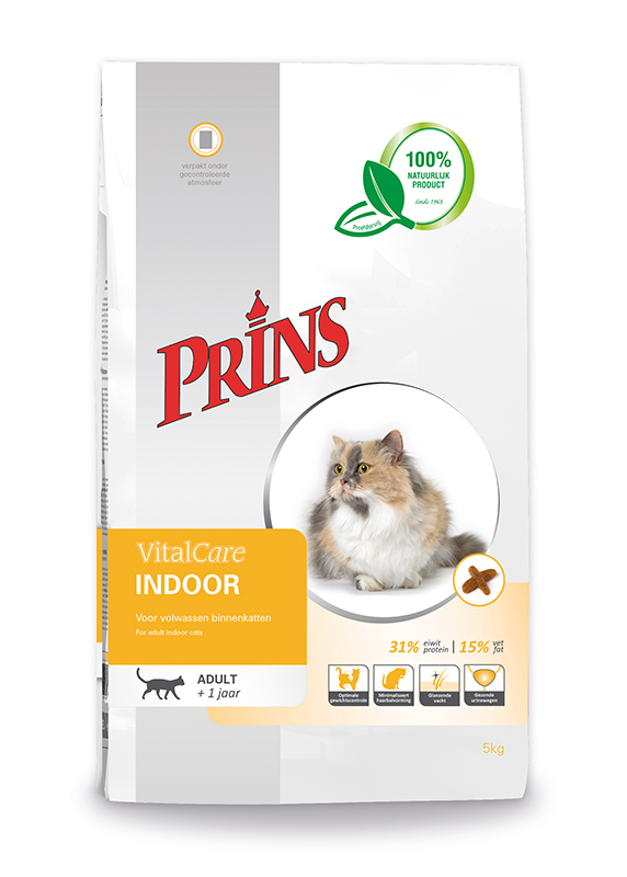 Prins - vitaalcare indoor meerkleurig 10 kg