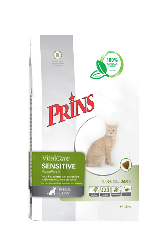Prins Cat Vital Care Adult Sensitive Hypo Allergee