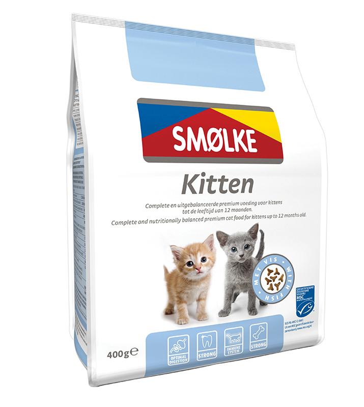 Productafbeelding voor 'Smolke - kitten meerkleurig 400 gr'
