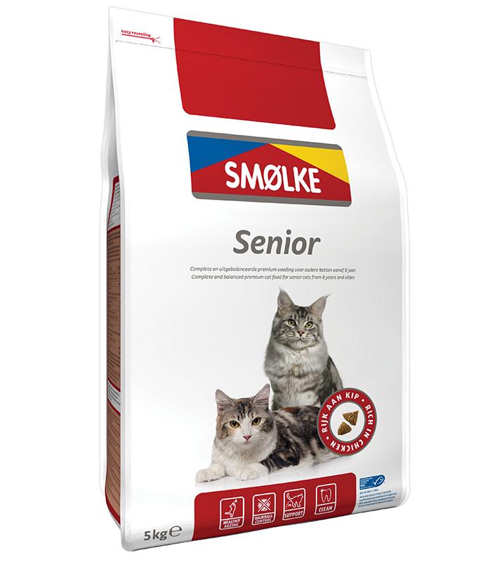 Productafbeelding voor 'Smolke - senior meerkleurig 5 kg'